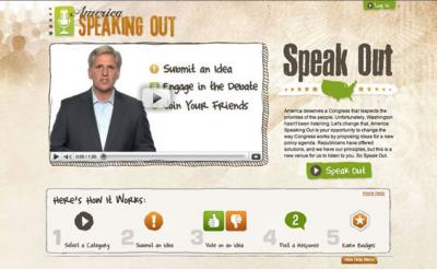 America Speaks Out