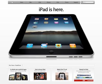 iPad has landed